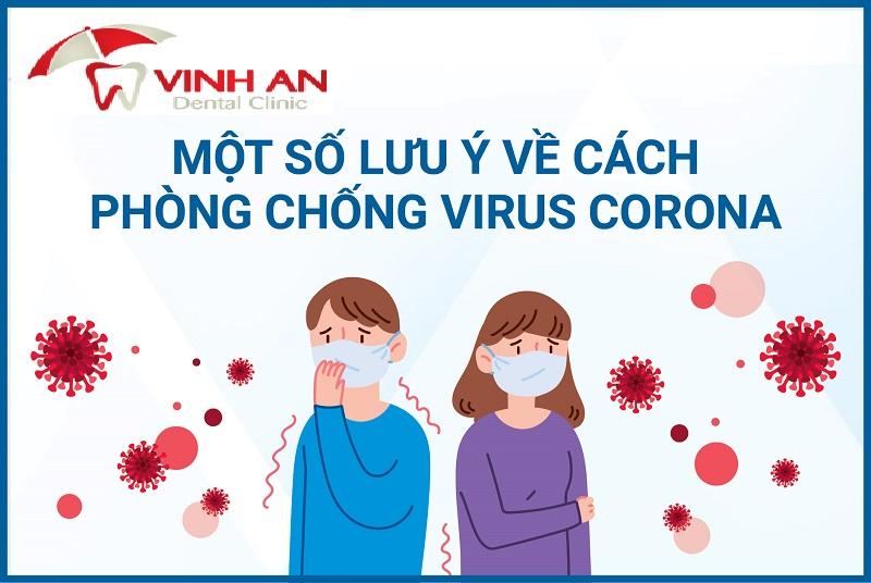 Cách phòng ngừa virus corona từ Nha Khoa Vinh An